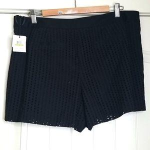 Calvin Klein Black Knit Shorts